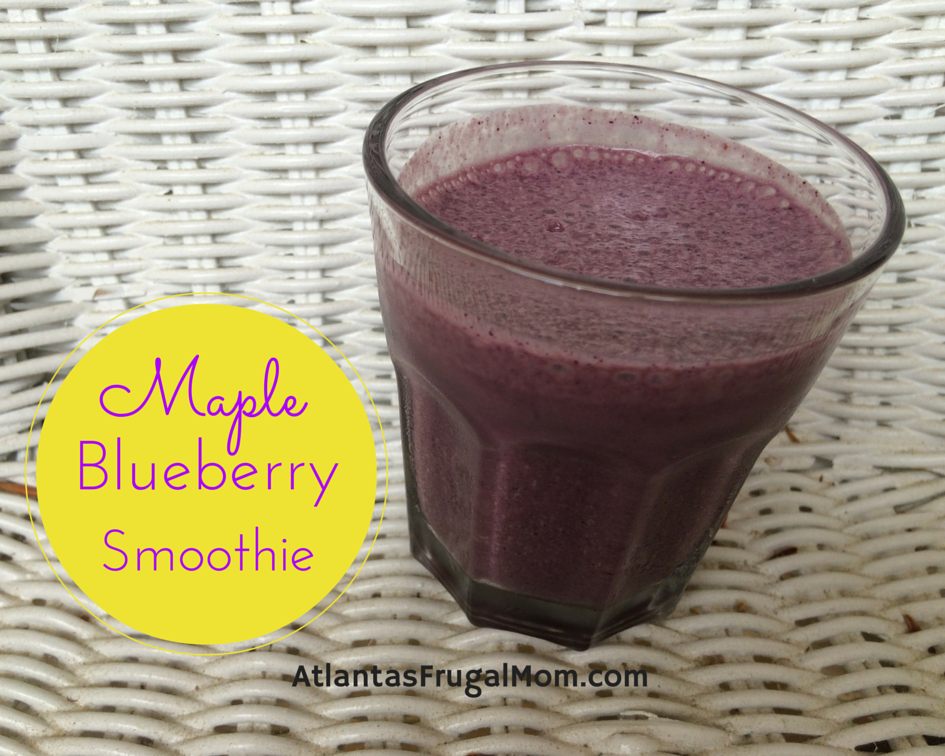 Maple Blueberry Smoothie