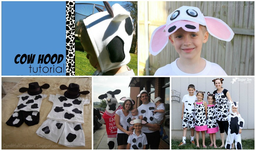 Cow Appreciation Day Costumes - Redhead Baby Mama