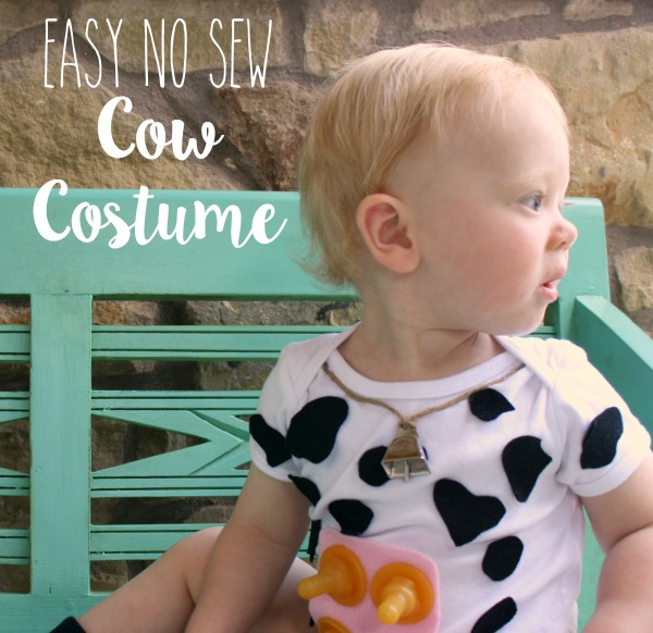 Easy-No-Sew-Cow-Costume