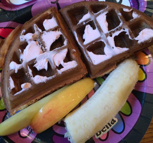 Veggie-Enriched Waffles