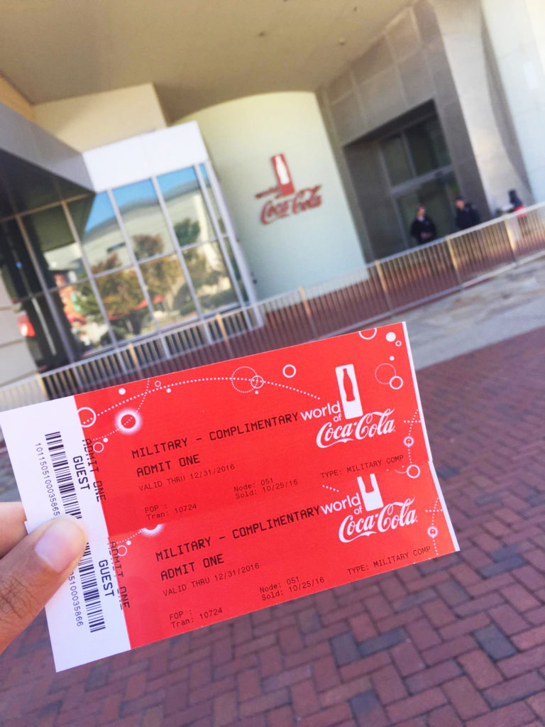 Veterans' Day Freebies 2016 - World of Coca-Cola
