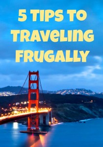 traveling frugally
