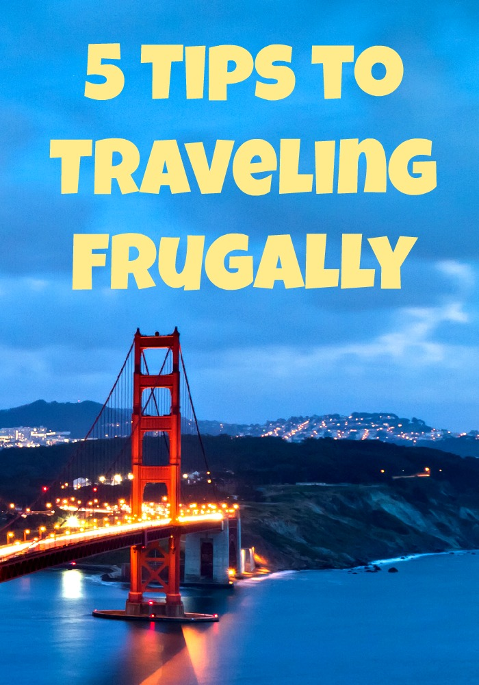 tips for traveling frugally