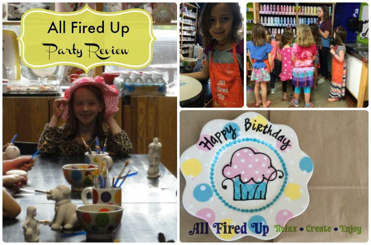 All Fired Up party review collage