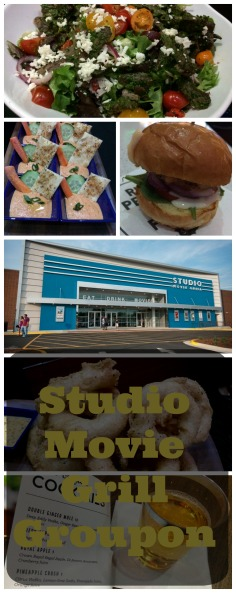 Studio Movie Grill Groupon Food - PIN ME