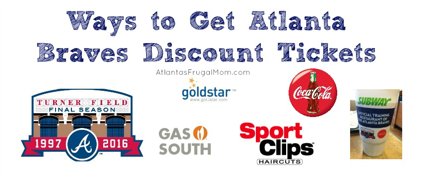 Ways to Get Atlanta Braves Discount Tickets