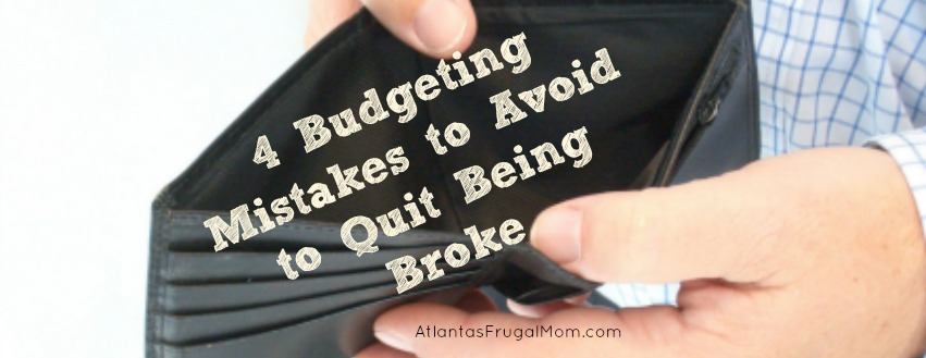 budgeting mistakes to avoid