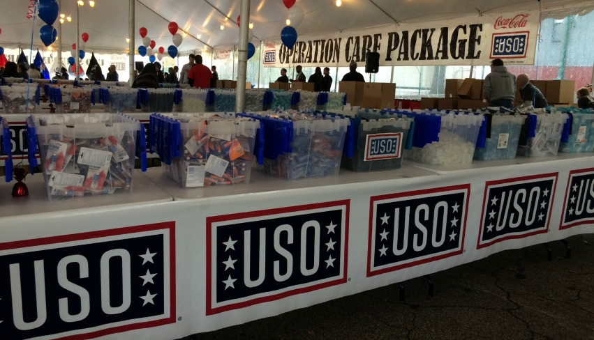Coca-Cola's Strong Military Commitment - USO care packages