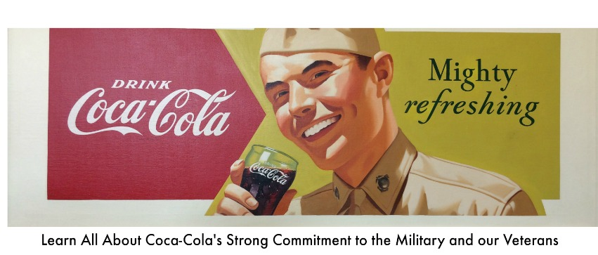 Coca-Colas Military Commitment - soldier