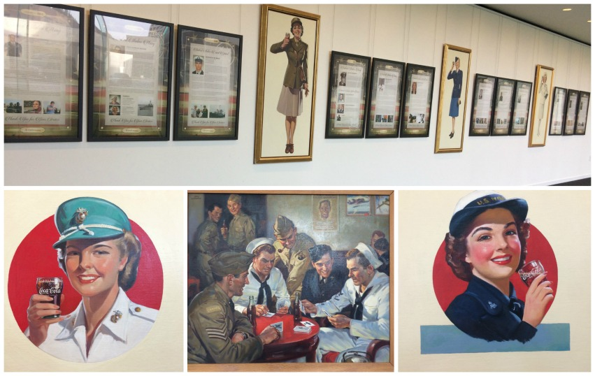 Coca-Cola's Strong Military Commitment - artwork