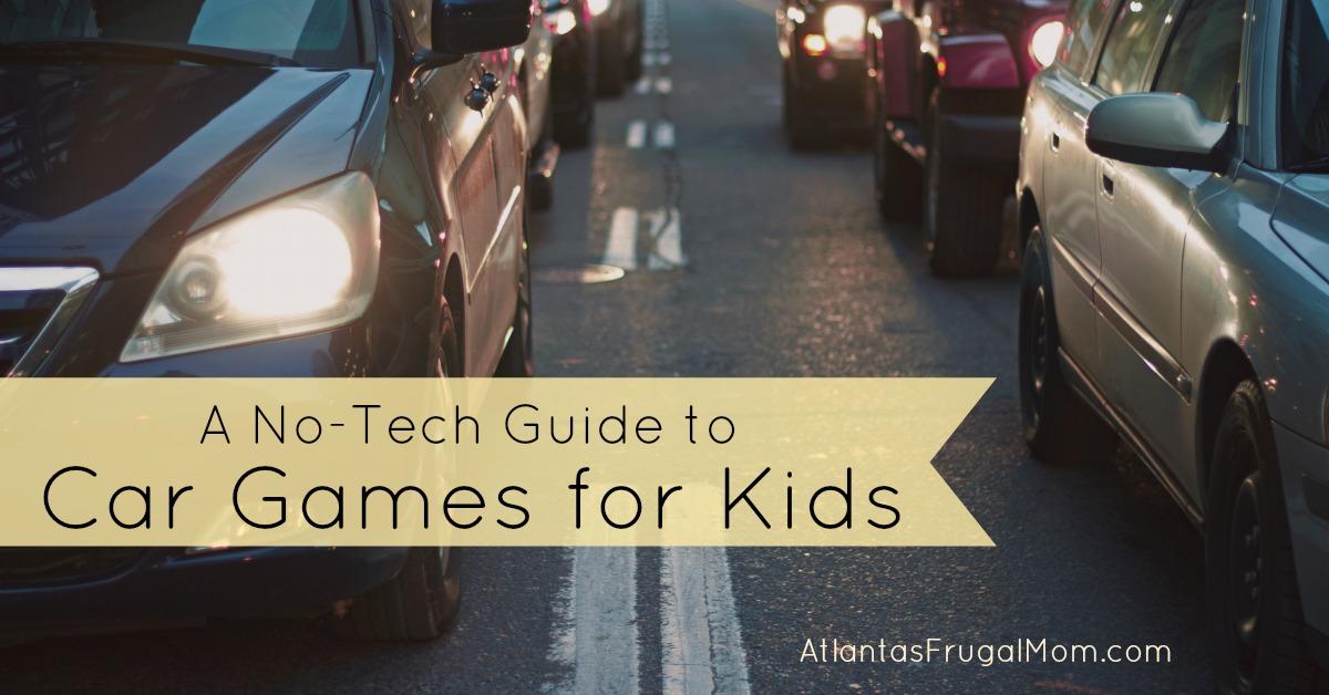 Punch Buggy Car >> Car Games for Kids - Atlantas Frugal Mom
