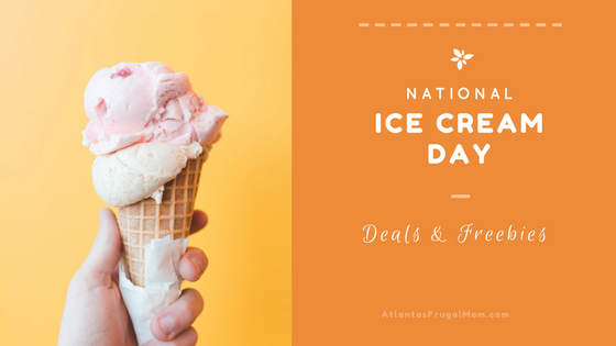 National Ice Cream Day Deals & Freebies
