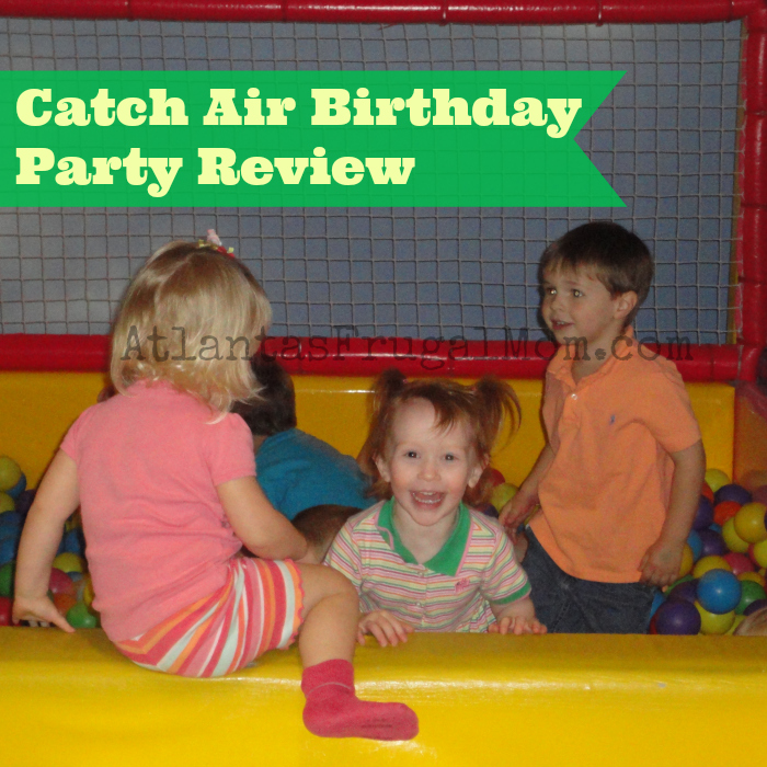 Catch Air Birthday Party Review Atlantas Frugal Mom
